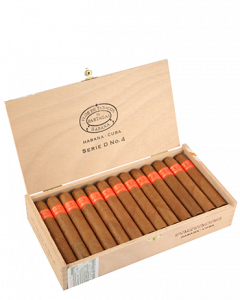 Partagas Serie D No. 4 SBN-B - 50/124 - boîte de 25 cigares