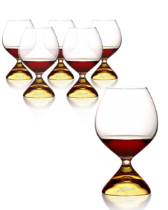 6 verres Ron Zacapa Royal