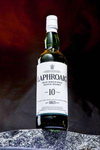 Laphroaig 10 ans & un verre