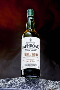Laphroaig Triple Wood & un verre