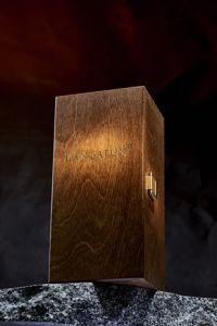 Langatun Caisse en bois pour carafe 50cl