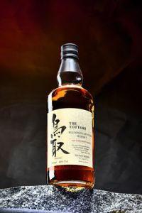 The Tottori Blended aged in Bourbon Barrels