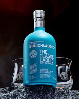 Bruichladdich The Classic Laddie & 2 verres